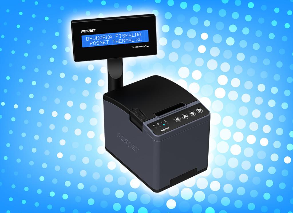 drukarka fiskalna Posnet Thermal XL
